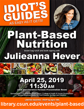 Your Guide to Plant-Based Nutrition event flier thumbnail