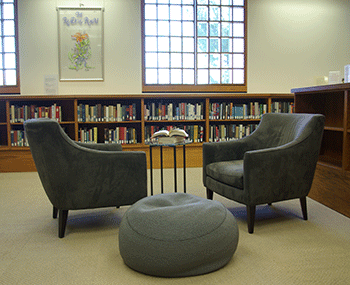 Reading Room Furniture Fair The Transforming Library  Oviatt Library Decorating Design