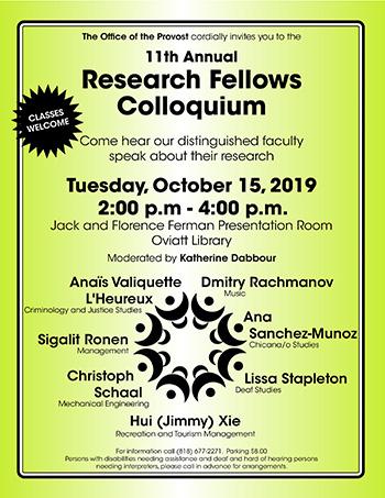 Research Fellows Flier