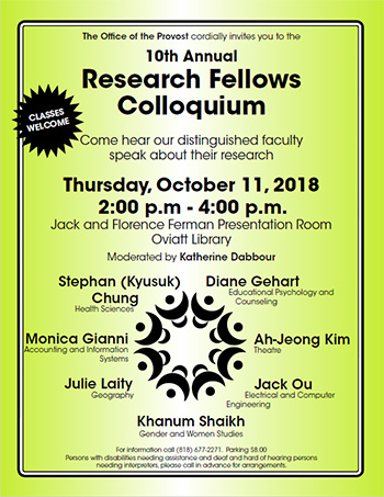 Research Fellows Flier