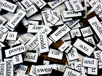 Magnetic Word Cut Outs