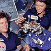 WISE Image - 2 Female Astronauts