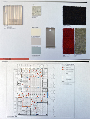 floorplans and materials for renovations