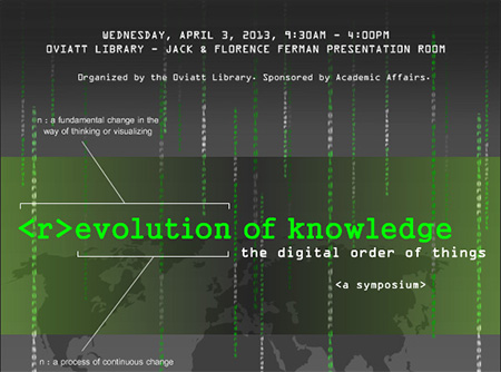 Revolution of Knowledge Flyer