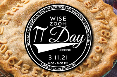 WISE ZOOM Pi Day and Mixer 3-11-21