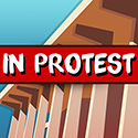 In Protest Logo