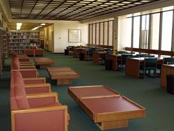Csun oviatt library study room