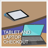 Tablet and Laptop Checkout